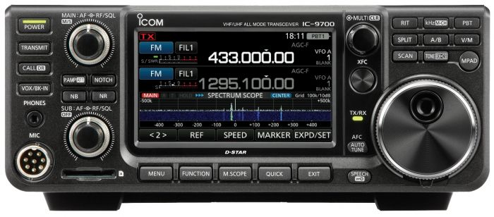 ICOM IC-9700 VHF/UHF 1.2 GHz