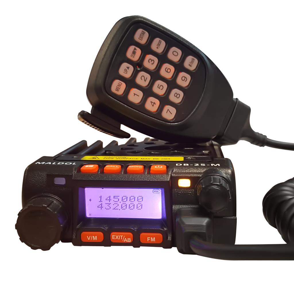MALDOL DB-25-M TRANSCEPTOR MOVIL BIBANDA