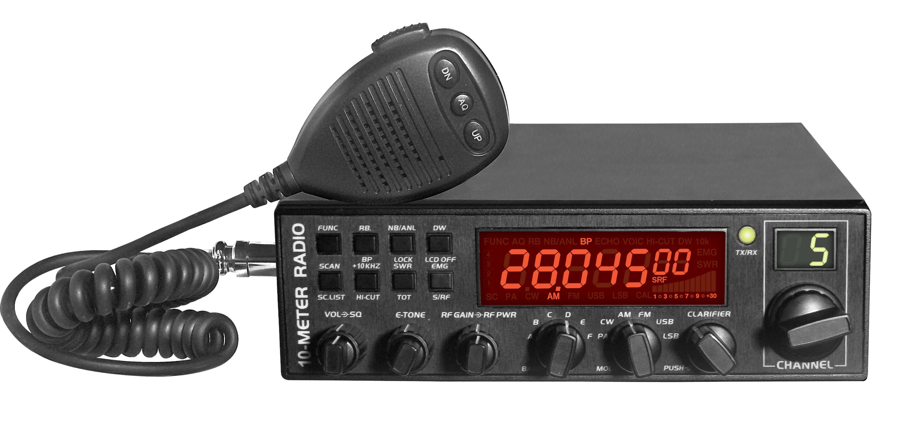 ANYTONE AT-5555 equipo 10m ham radio